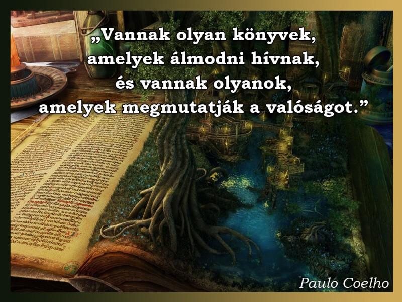 könyvek idézetek Vannak olyan könyvek, amelyek álmodni hívnak   Idézetek, mondások